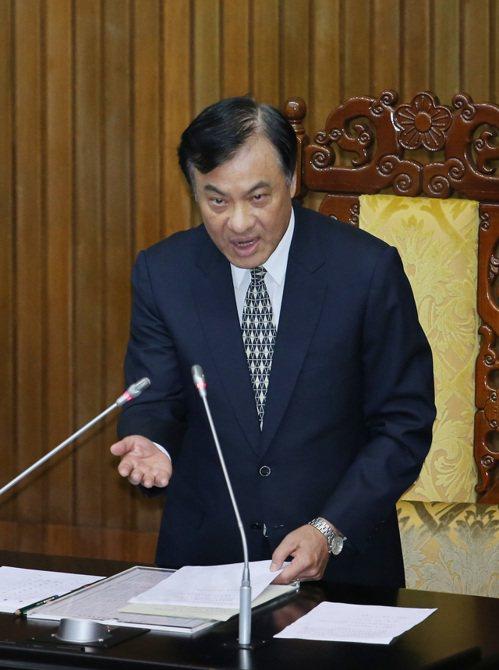 立法院長蘇嘉全。記者陳柏亨/攝影