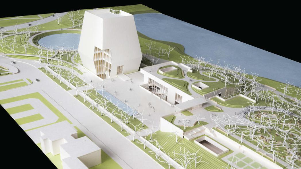 歐巴馬基金會15日公布,將斥資3.5億元修建歐巴馬中心,並於2021年開放。(取...