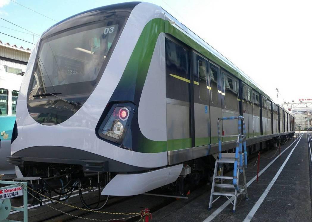 圖為台中捷運綠線電聯車。圖/台中市新聞局提供