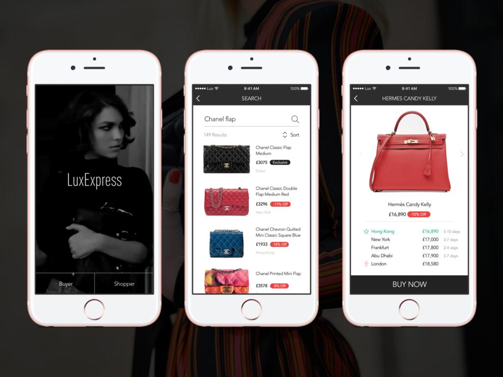 LuxExpress App介面。圖/INSIDE