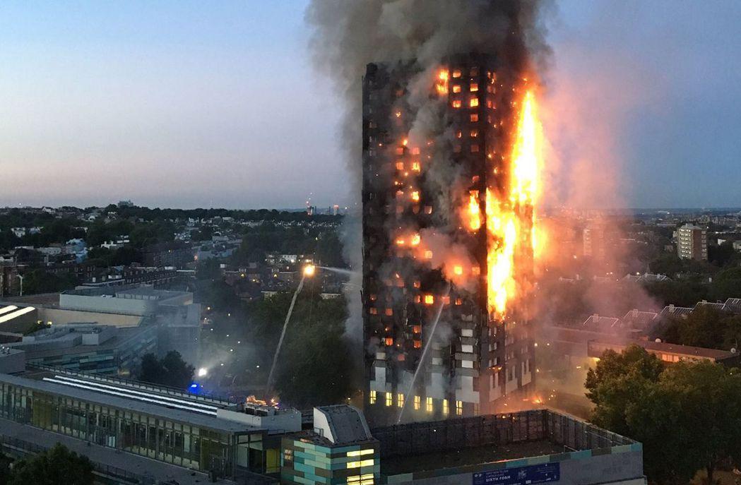「指示要我待原地」 倫敦惡火58條命 「保命法」失靈?