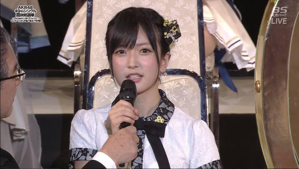 須藤凜凜花在總選舉上當眾宣布婚訊。圖/摘自推特