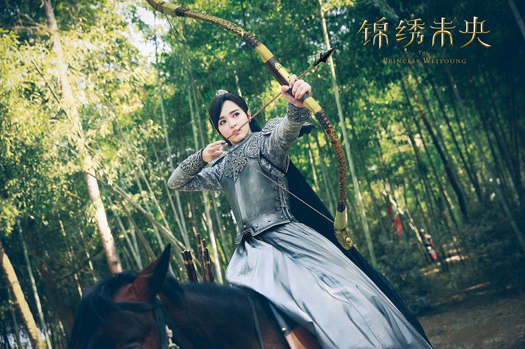 唐嫣在「錦繡未央」中擺脫「傻白甜」印象。圖/TVBS提供
