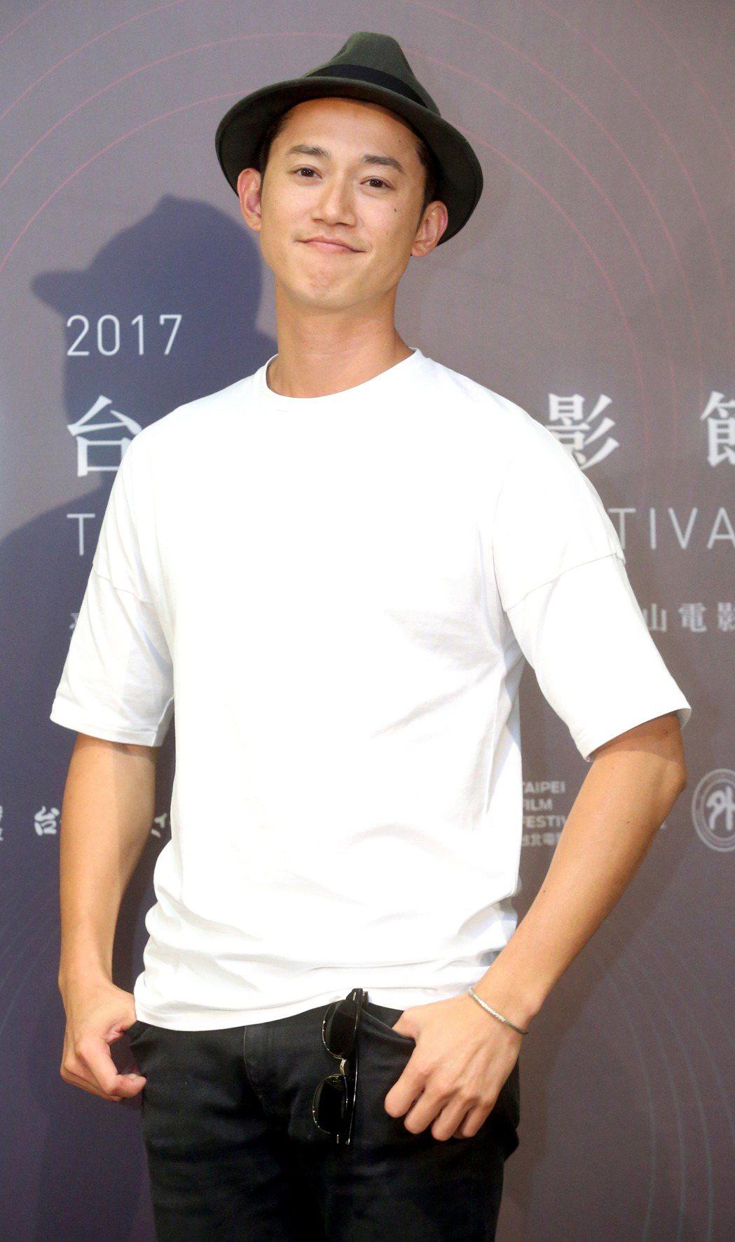 台北電影節電影大使吳慷仁。記者屠惠剛/攝影