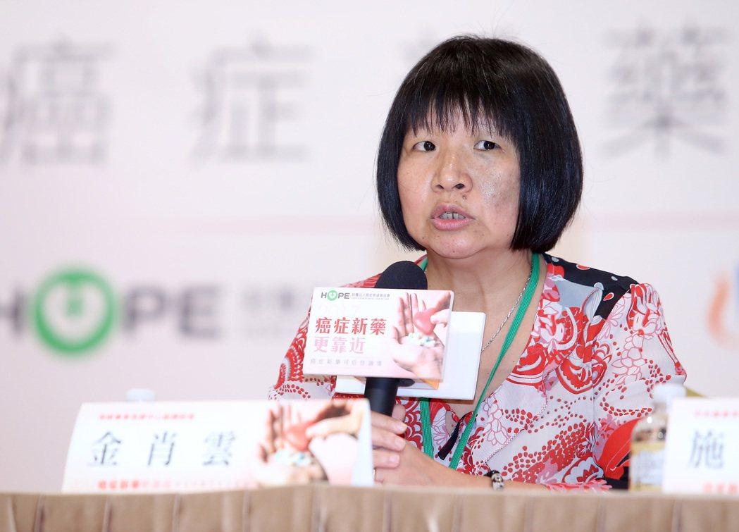 聯合報健康事業部與癌症希望基金會、台灣諾華舉辦「2017癌症新藥可近性論壇」,保...