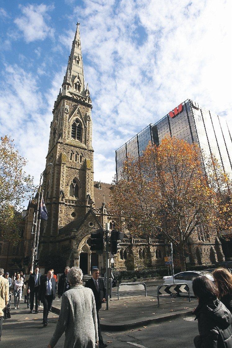 眾多的教堂,讓墨爾本也有「南半球教堂之城」的美譽。 記者陳睿中/攝影