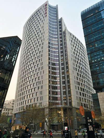 上海靜安區南京西路一七八八國際中心。 圖/本報資料照片