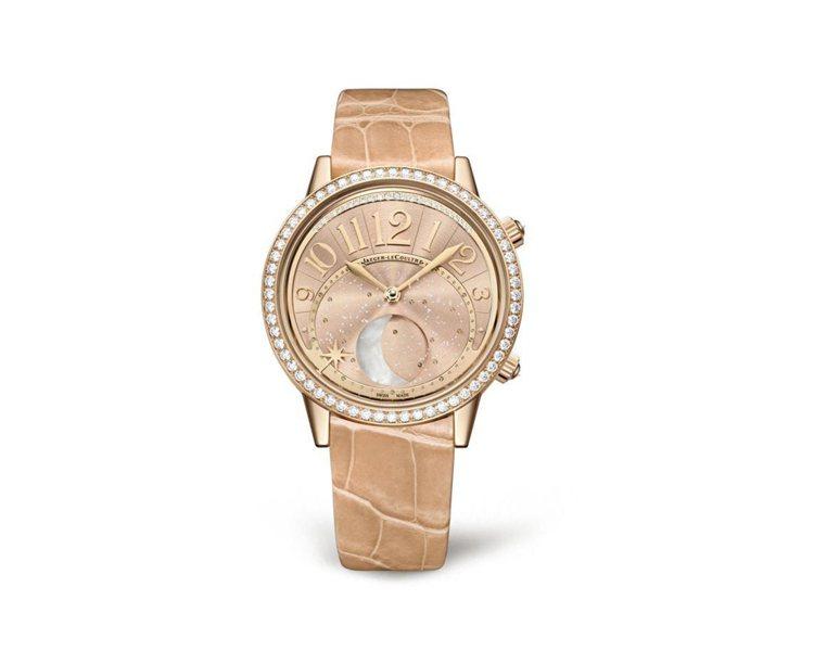 趙薇佩戴積家新款頂級Rendez-Vous Moon約會系列月相珠寶表,111萬...