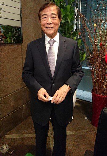 冠德董事長馬玉山。記者陳美玲/攝影