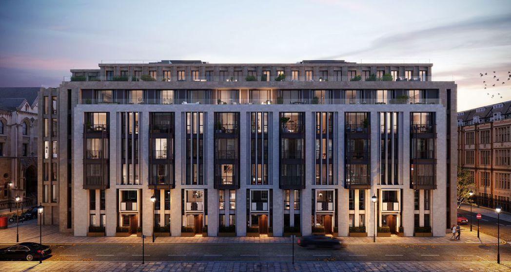 知名新建案Lincoln Square林肯豪宅就位於倫敦政經學院及皇家司法院正旁...