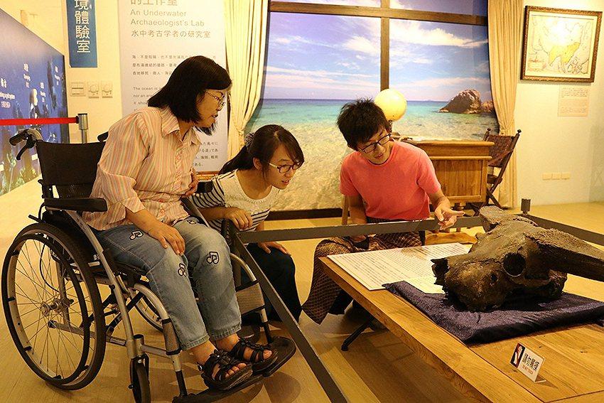 十三行博物館自今年7月起,推出身心障礙者免費專案。 十三行博物館/提供