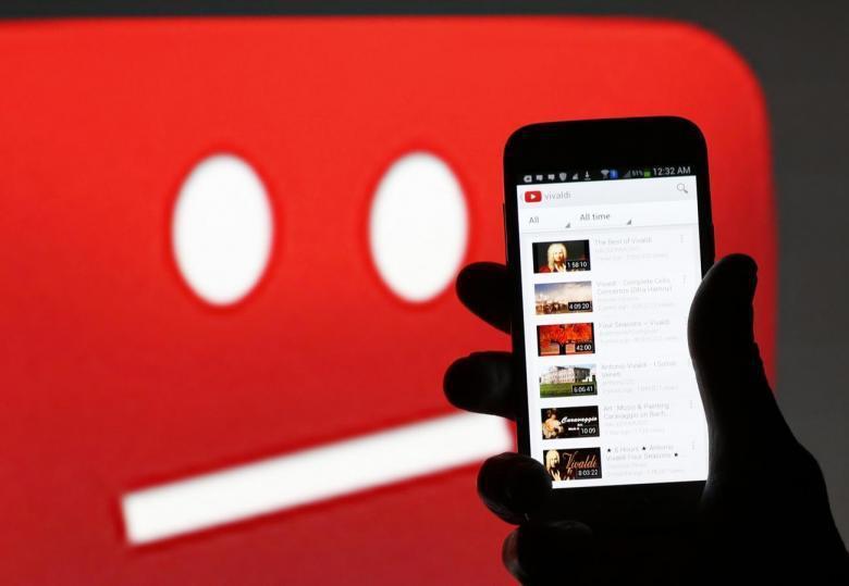 YouTube。圖/路透