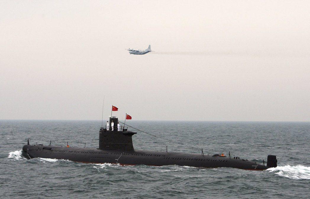 如果中國海軍夠強大,能在西太平洋佔據比過去的日本帝國海軍更優越的控制地位。 圖/...