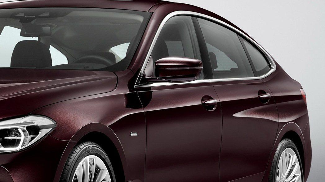 更具肌肉線條的車側。 摘自BMW