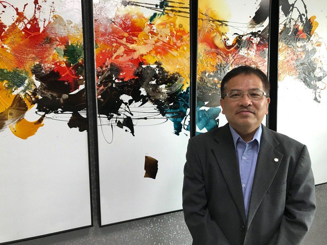 宏進金屬公司總經理吳春森博士。 張傑/攝影