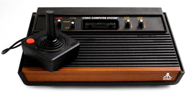 此為Atari經典主機Atari 2600
