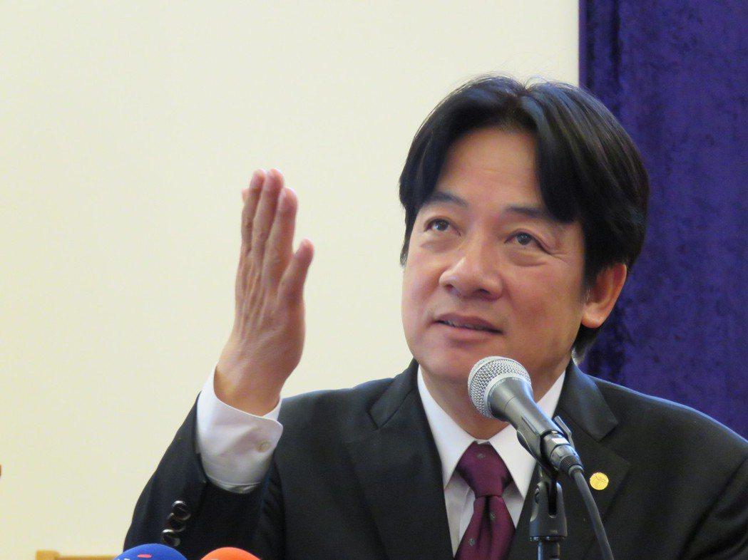 台南市長賴清德18日於美國馬里蘭州發表演說時指出,接受「九二共識」不是問題,問題...