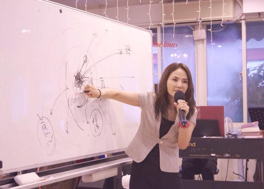 前偶像少女團體「星星月亮太陽」成員胡曉菁,將擔任遠東科大流行音樂學系系主任。圖/...