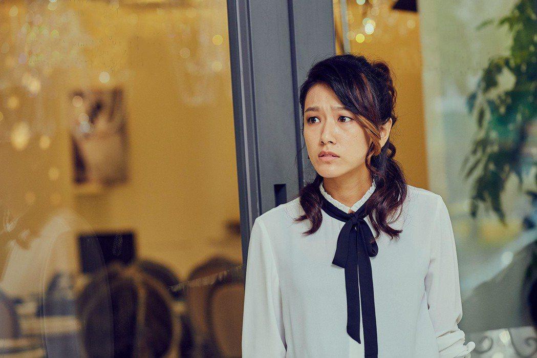 林意箴在「花甲男孩轉大人」中飾演盧廣仲的姊姊。圖/台視提供
