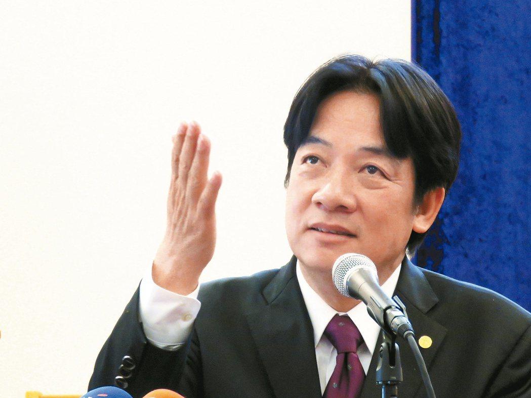台南市長賴清德18日在美國馬里蘭州演說時表示,接受「九二共識」不是問題,問題是在...