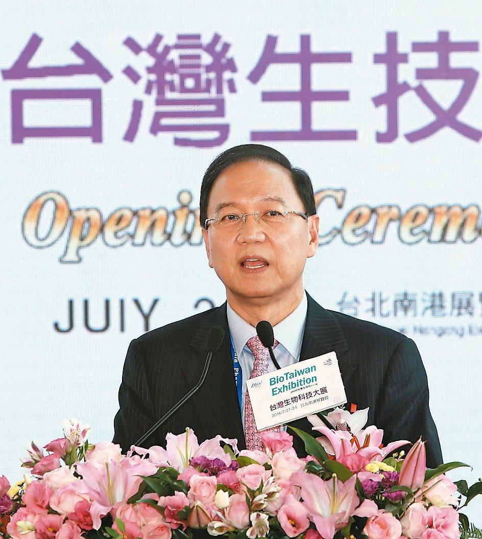 2017台灣生技月籌備委員會主任委員李鍾熙。 (本報系資料庫)
