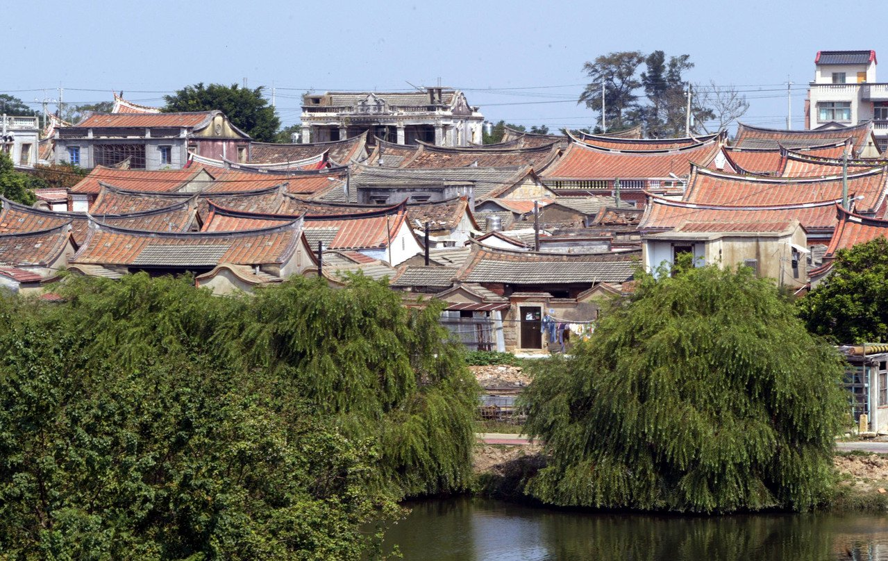 金門國家公園閩南式建築。本報資料照片/記者陳易辰攝影