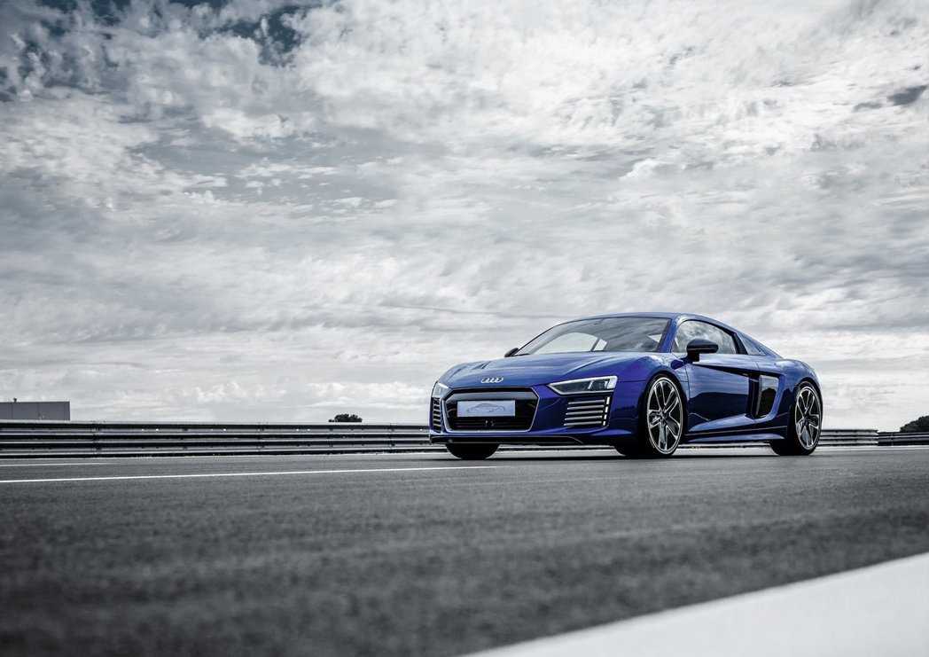 奧迪正積極開發全新電動超跑。 摘自Audi