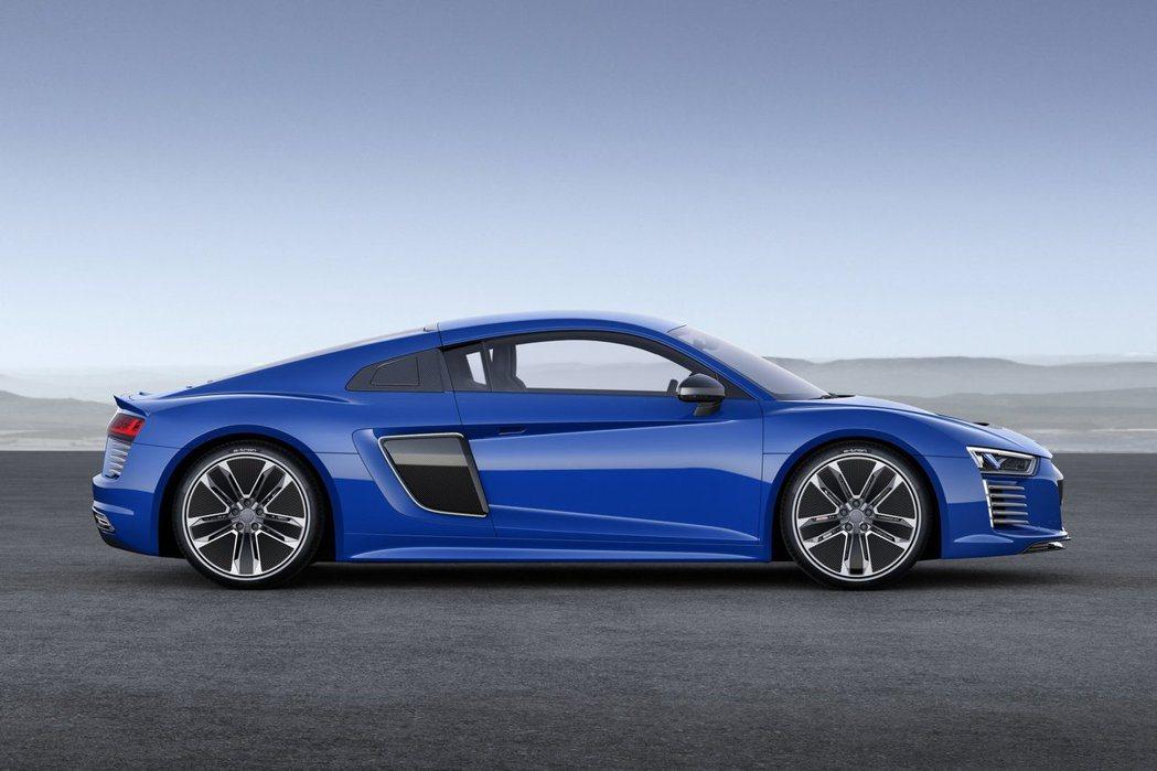 奧迪電動超跑的售價可能因搭載高配備而提升。 摘自Audi