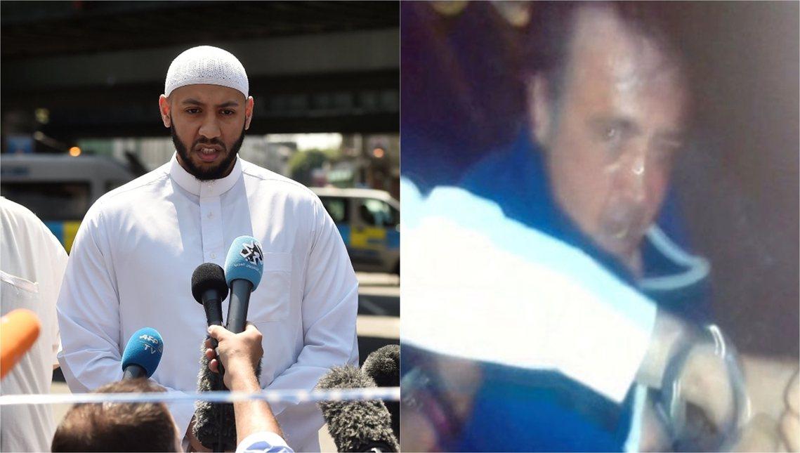 北倫敦清真寺恐攻案:關於兇手(右),還有芬斯伯里公園的英雄(左)。 圖/路透社
