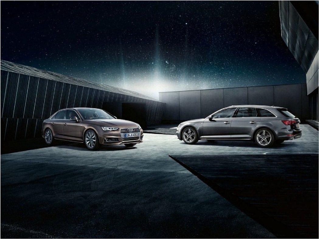 全新年式Audi A4/A4 Avant正式在台上市。 圖/台灣奧迪提供