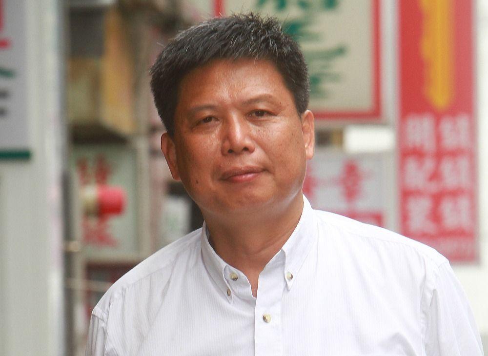 政大教授徐世榮。聯合報系資料照