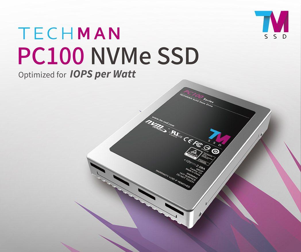 達明高效能新品PC100系列產品首度於北京閃存峰會亮相。 達明提供