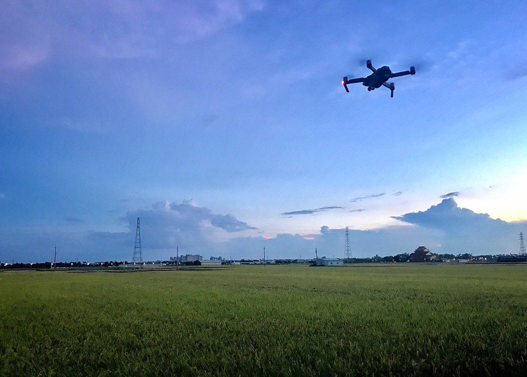 空拍機。聯合報系資料照片。圖/嘉義縣政府提供