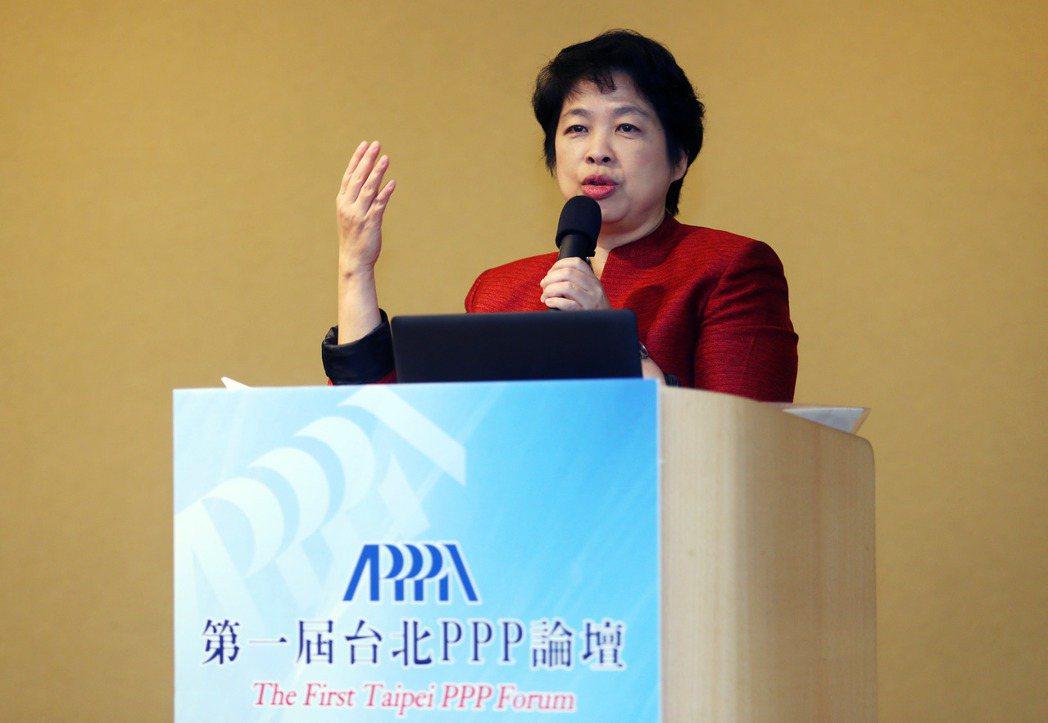 亞太公私合夥建設(PPP)發展協會上午舉辦第一屆台北PPP論壇,邀請新加坡前財政...
