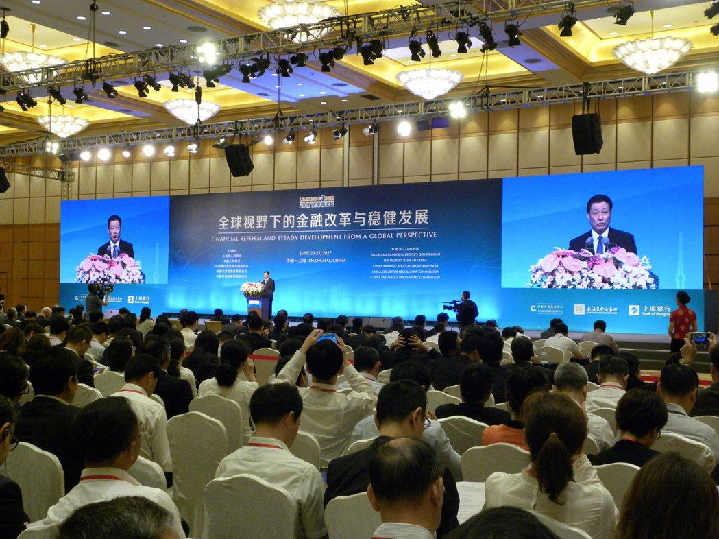 上海市長應勇指出,上海在金融領域的發展目標是要在2020年基本建成與中國經濟實力...