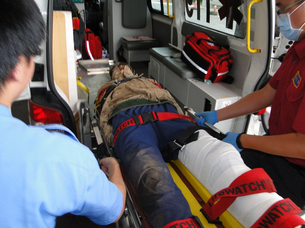登山客李明翰送慈濟急救 意識清醒無生命危險