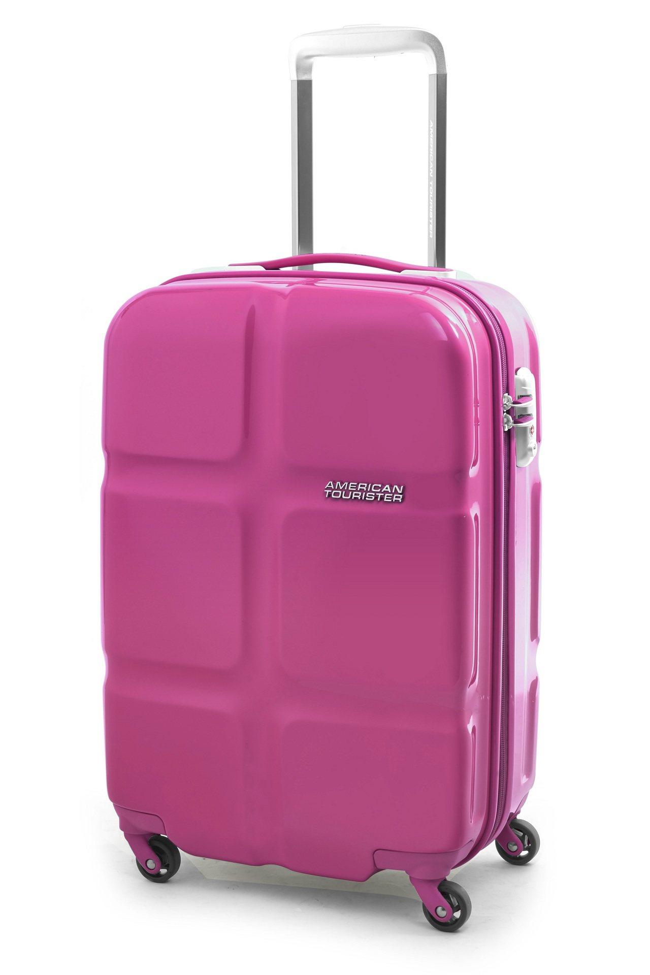 American Tourister CubePop系列24吋四輪拉桿行李箱,原...