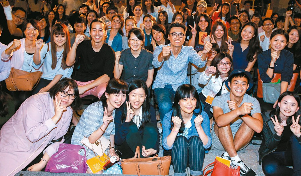 願景工程-公民沙龍GAP YEAR場,昨在華山文創園區舉辦。 記者程宜華/攝影