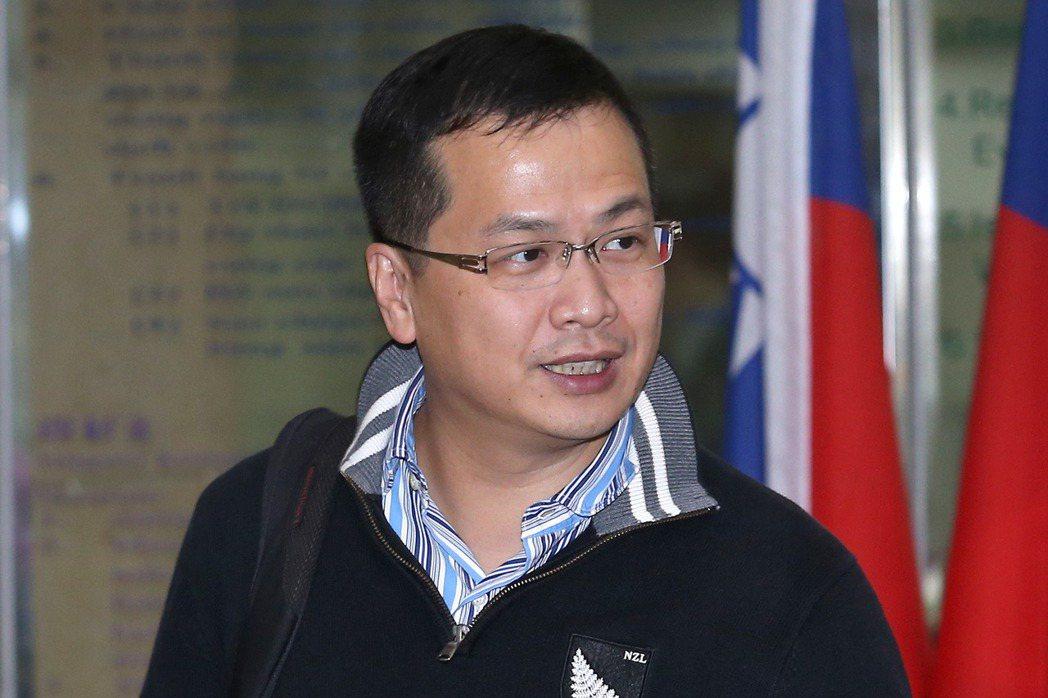 總統府前副秘書長羅智強。聯合報資料照
