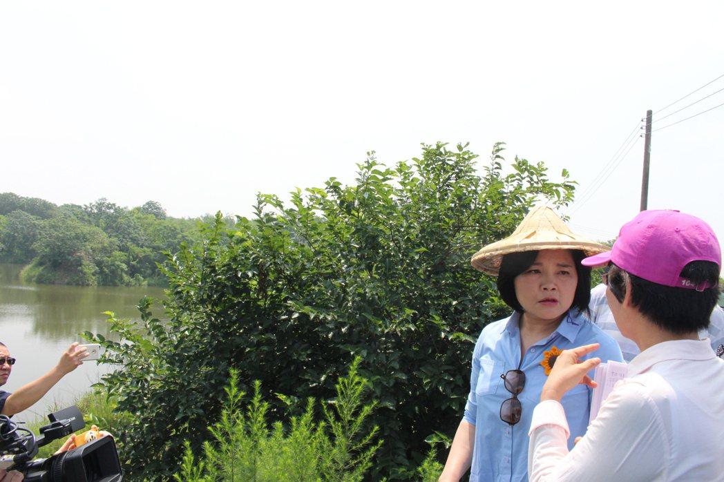 立委張麗善(右二)。聯合報系資料照,記者姜宜菁/攝影