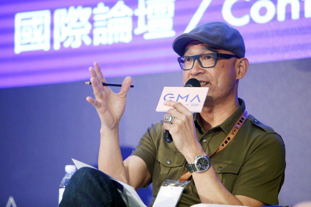王治平出席金曲國際論壇與來賓交流。記者陳瑞源/攝影