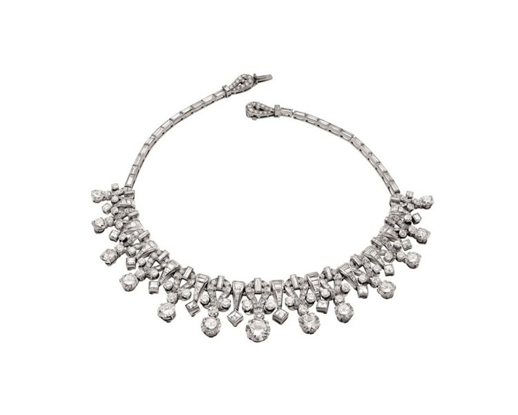 BVLGARI Heritage典藏系列鑽石項鍊。圖/BVLGARI提供