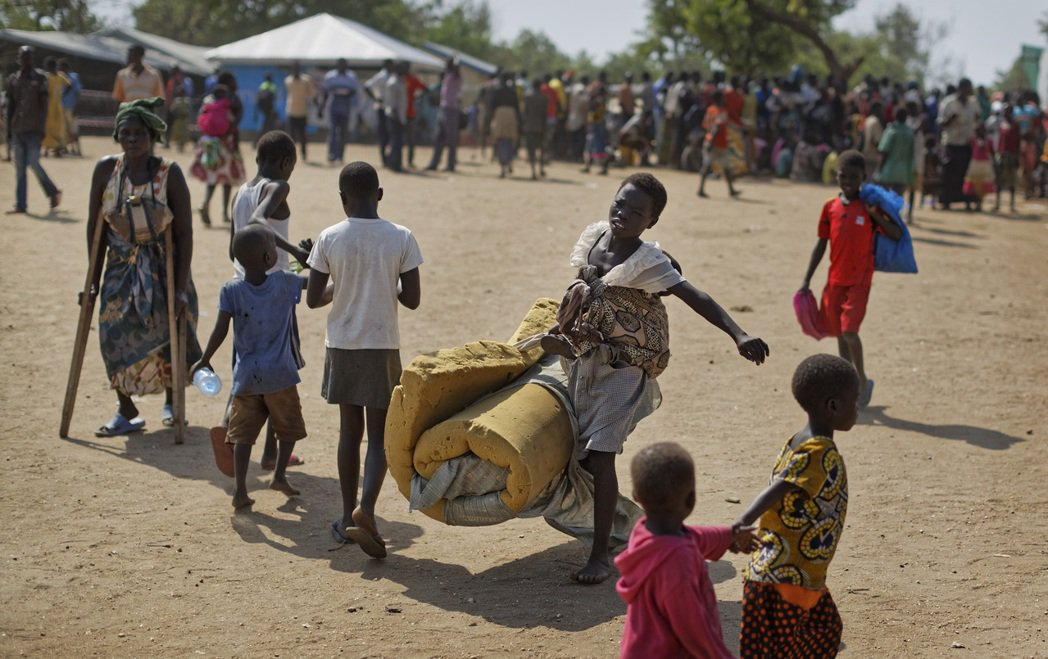 南蘇丹難民大多逃往烏干達尋求庇護。(美聯社) UCD匯入