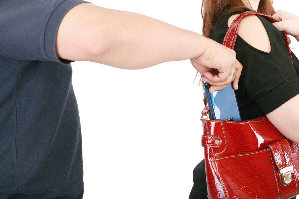 扒手示意圖,非新聞當事人。圖/ingimage