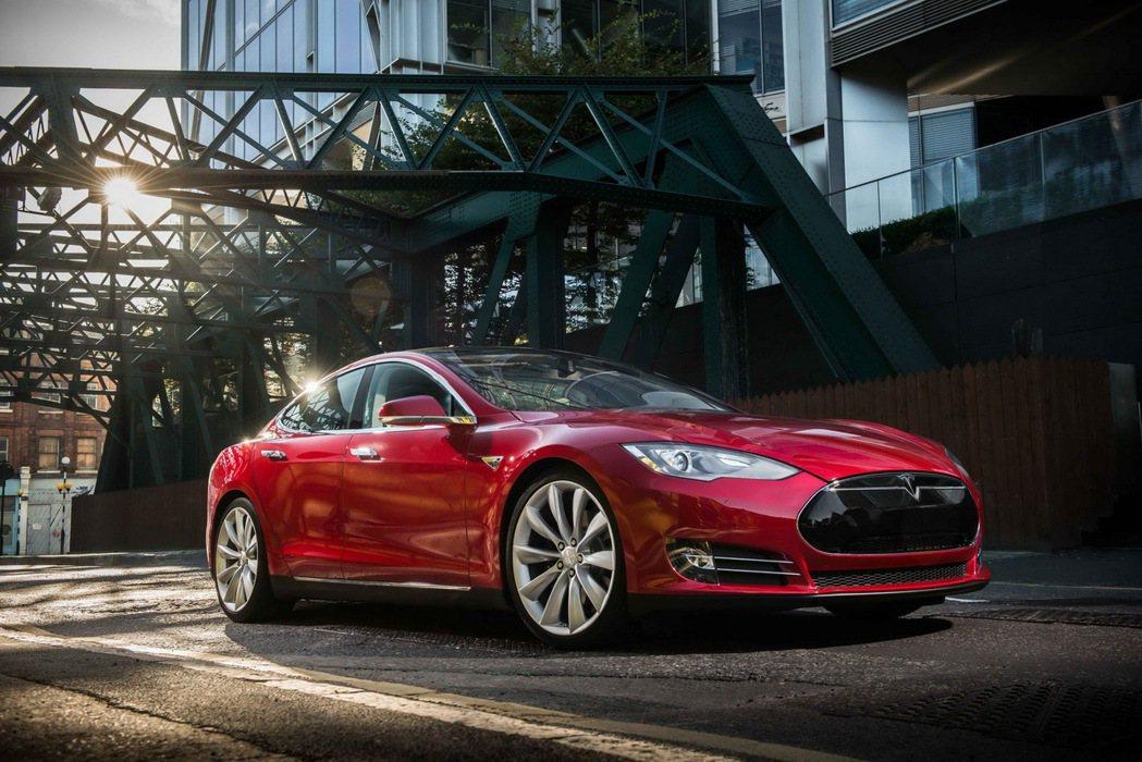 Tesla Model S。圖/Tesla提供