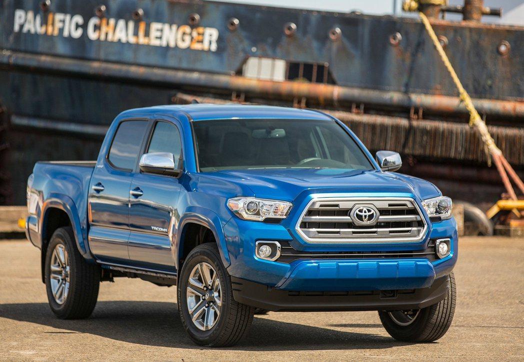 Toyota Tacoma(塔科馬)中型皮卡國內也有貿易商接單引進,因此在台灣路...