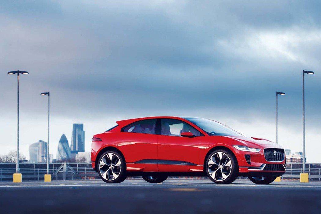 Jaguar I-Pace Concept。圖/Jaguar提供
