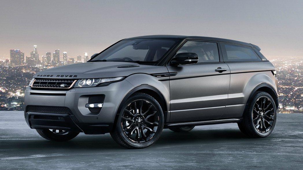 Range Rover Evoque。圖/Land Rover提供