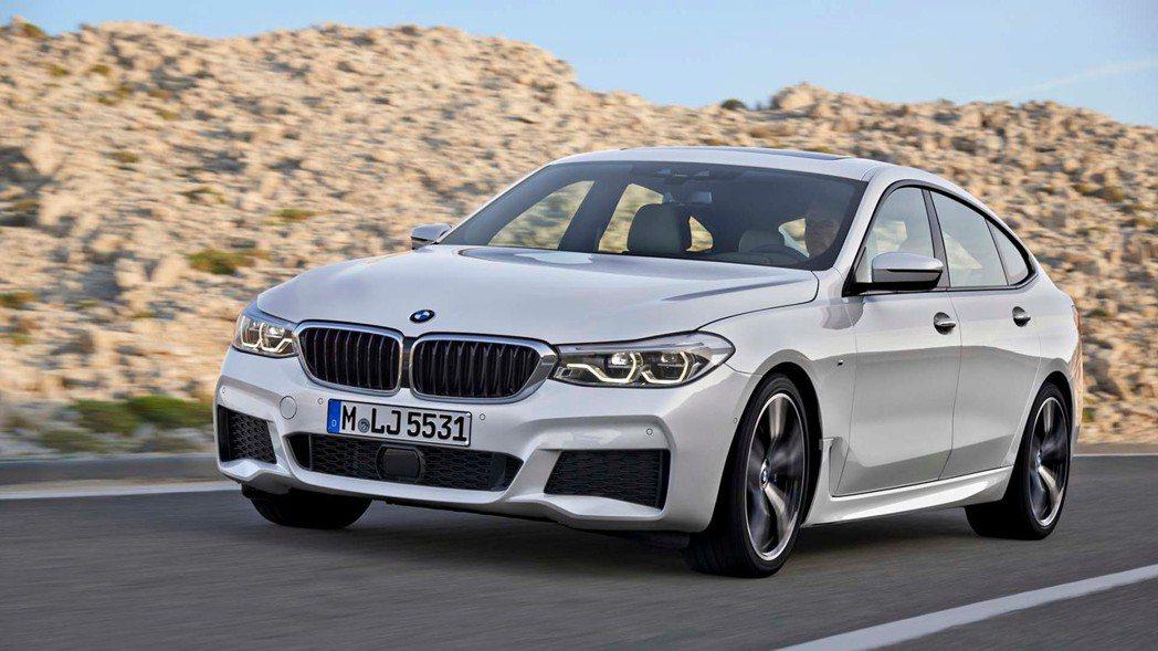 圖為BMW 6GT。 摘自BMW