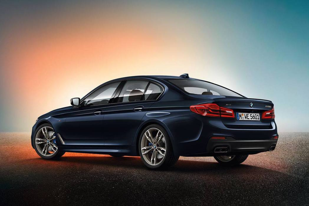 圖為BMW M550i xDrive。 摘自BMW